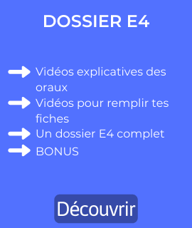 dossier E4 bts gpme